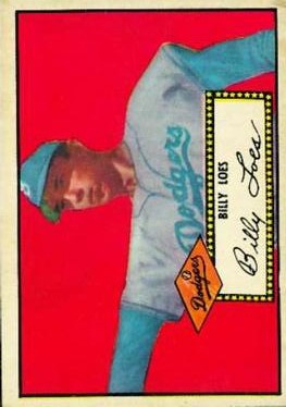 1952 Topps #20A Billy Loes Black