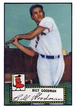 1952 Topps #23 Billy Goodman