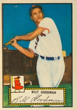1952 Topps #23A Billy Goodman Black