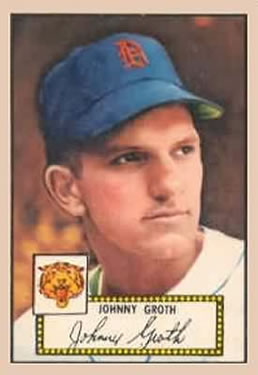 1952 Topps #25 Johnny Groth