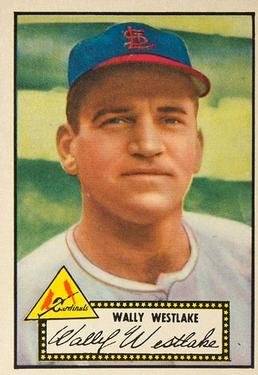 1952 Topps #38A Wally Westlake Black