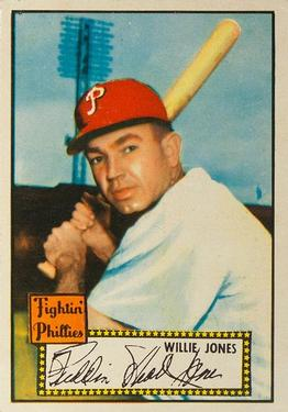 1952 Topps #47 Willie Jones