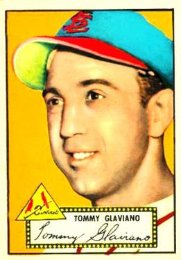 1952 Topps #56 Tommy Glaviano