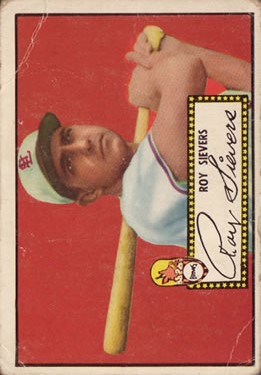 1952 Topps #64A Roy Sievers Black