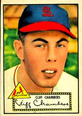 1952 Topps #68 Cliff Chambers
