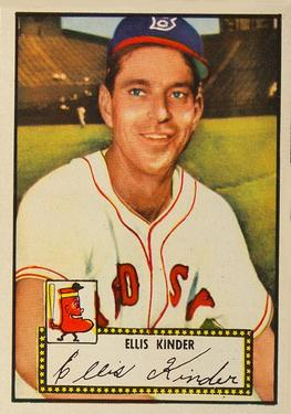 1952 Topps #78A Ellis Kinder Black