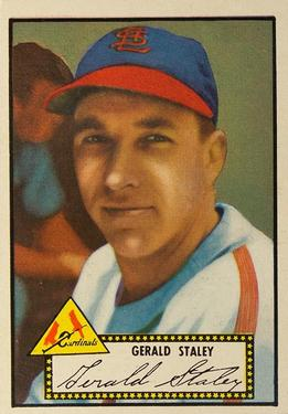 1952 Topps #79 Gerry Staley
