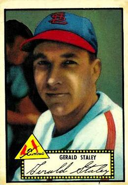1952 Topps #79A Gerry Staley Black