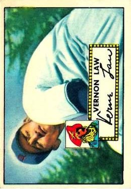 1952 Topps #81 Vernon Law