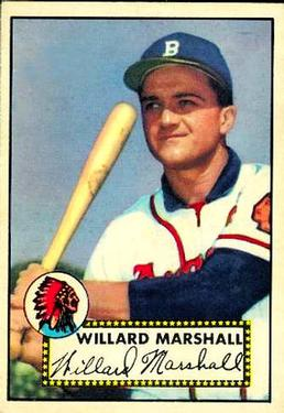 1952 Topps #96 Willard Marshall