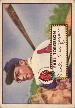 1952 Topps #97 Earl Torgeson