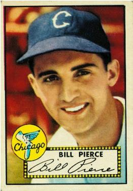 1952 Topps #98 Billy Pierce