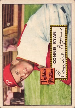 1952 Topps #107 Connie Ryan front image