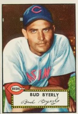 1952 Topps #161 Bud Byerly RC