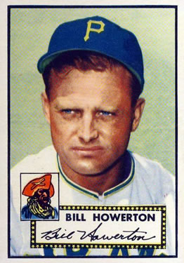 1952 Topps #167 Bill Howerton