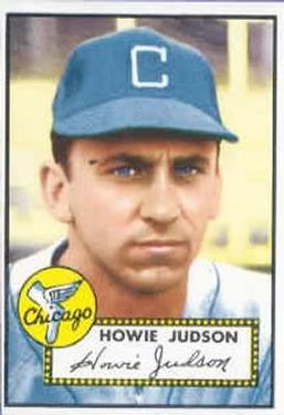 1952 Topps #169 Howie Judson
