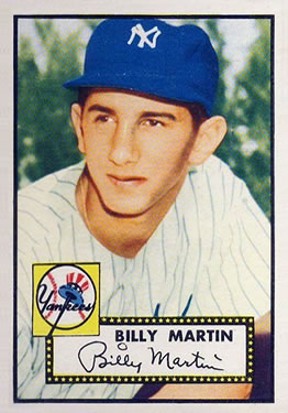 1952 Topps #175 Billy Martin RC