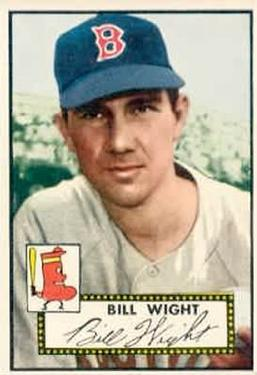 1952 Topps #177 Bill Wight