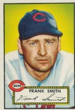 1952 Topps #179 Frank Smith RC