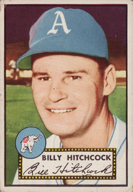 1952 Topps #182 Billy Hitchcock