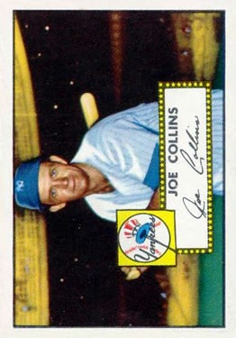 1952 Topps #202 Joe Collins RC