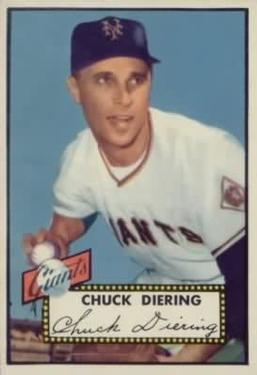 1952 Topps #265 Chuck Diering