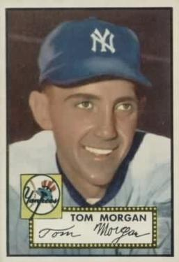 1952 Topps #331 Tom Morgan RC