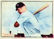 1952 Berk Ross #37 Mickey Mantle