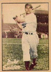 1952 Berk Ross #61 Duke Snider