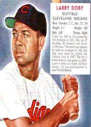 1952 Red Man #AL6 Larry Doby