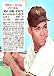 1952 Red Man #NL9 Monte Irvin