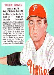 1952 Red Man #NL11 Willie Jones