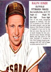 1952 Red Man #NL12 Ralph Kiner