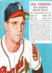 1952 Red Man #NL25 Earl Torgeson