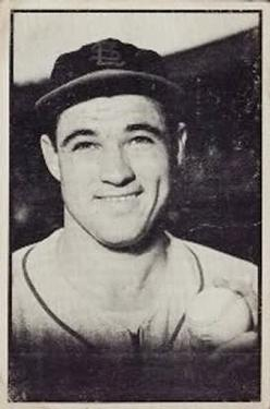 1953 Bowman Black and White #23 Wilmer Mizell