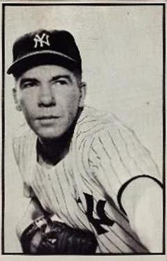 1953 Bowman Black and White #33 Bob Kuzava