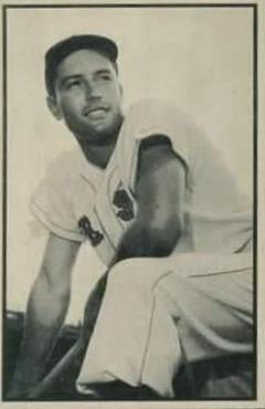 1953 Bowman Black and White #36 Jimmy Piersall