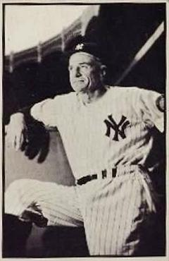 1953 Bowman Black and White #39 Casey Stengel MG
