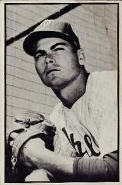 1953 Bowman Black and White #47 Jack Lohrke