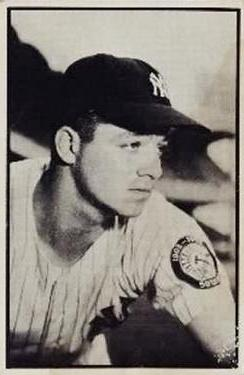 1953 Bowman Black and White #54 Bill Miller