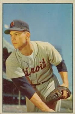 1953 Bowman Color #4 Art Houtteman