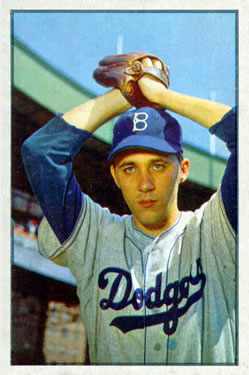 1953 Bowman Color #14 Billy Loes