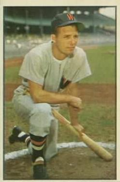 1953 Bowman Color #15 Jim Busby