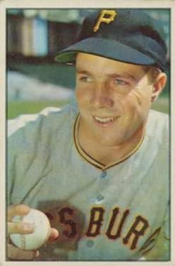 1953 Bowman Color #16 Bob Friend
