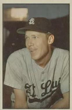 1953 Bowman Color #20 Don Lenhardt