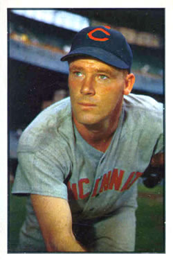 1953 Bowman Color #23 Herman Wehmeier