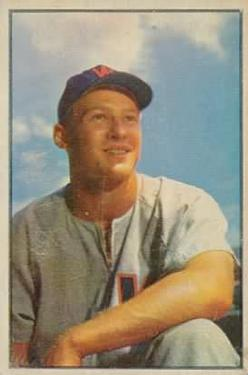 1953 Bowman Color #24 Jackie Jensen