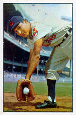 1953 Bowman Color #29 Bobby Avila