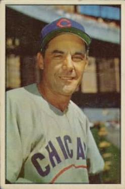 1953 Bowman Color #30 Phil Cavarretta