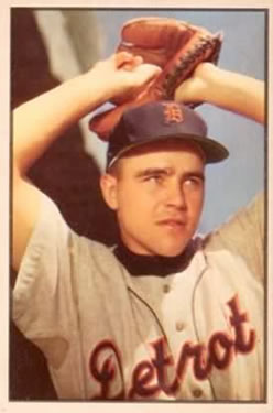 1953 Bowman Color #47 Ned Garver